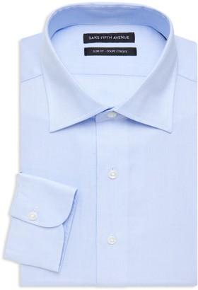 Saks Fifth Avenue Slim-Fit Dot Design Dress Shirt