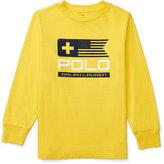 Ralph Lauren Graphic-Print Long-Sleeve T-Shirt, Toddler Boys (2T-5T) & Little Boys (2-7)
