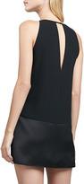 Parker Stacey Paneled Keyhole Dress