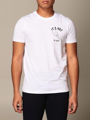Armani Collezioni Armani Exchange T-shirt Armani Exchange T-shirt With Its Hot Print