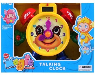 "Bisontec ""Tell The Time"" Time Teaching Clock Toy For Kids"