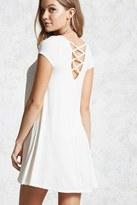 Forever 21 FOREVER 21+ Strappy-Back Mini Dress