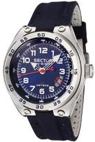 Sector SK-Eight Men's Watch Analogue Quartz with Blue Dial and Blue Fabric Strap - R3251177035
