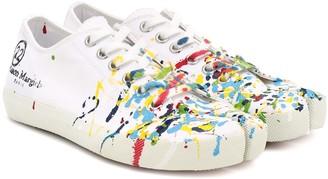 Maison Margiela Tabi canvas low-top sneakers