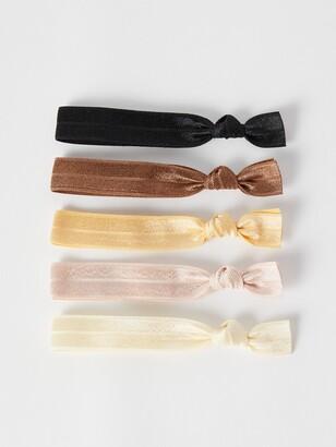 Kitsch 5-Pack Printed Hair Ties