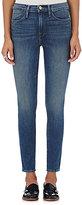 Frame Women's Le High Straight Jeans-BLUE