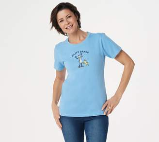 Life is Good Women's In the Kitchen Short Sleeve Crusher Tee