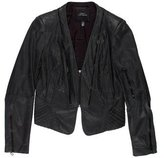 Robert Rodriguez Leather Structured Jacket