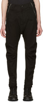 Julius Black Twisted Flight Trousers