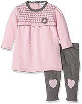 3 Pommes 3Pommes Baby Girls Pink Clothing Set, ,59 cm, 1-3 Months (Manufacturer Size:1/3 Months)
