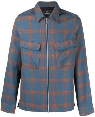 Paul Smith Checked Shirt Jacket
