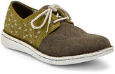 Justin Boots Women's Oxfords - Chocolate & Green Cactie Oxford - Women