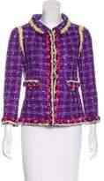 Chanel Fringe Tweed Jacket