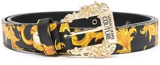 Versace Jeans Couture Baroque Print Belt