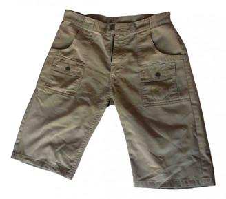 A Bathing Ape Beige Cotton Shorts