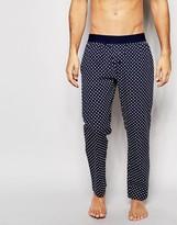 Asos Loungewear Woven Bottoms With Polka Dot Print