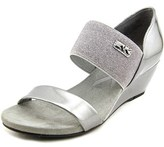 Anne Klein Cailina Women Open Toe Synthetic Wedge Sandal.