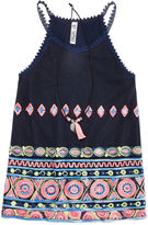 Knitworks Knit Works Beautees Embroidered Tank Top with Necklace - Girls 7-16