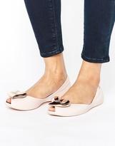 Melissa Blush Matte Queen Flat Shoes