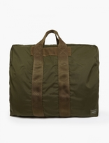 Porter Olive Two-way Duffle Bag