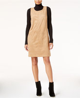 Maison Jules Faux-Suede Shift Dress, Only at Macy's