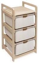 Badger Basket Hamper 3-Drawer Storage Unit