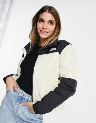 The North Face Gosei puffer jacket in white