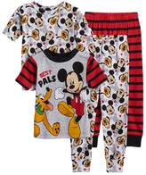 Disney Disney's Mickey Mouse Toddler Boy 4-pc. Mickey Mouse & Pluto Pajama Set