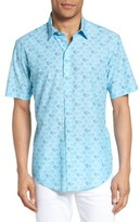 Zachary Prell Men's Cobb Print Sport Shirt