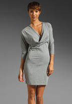 Bobi Supreme Jersey Cowl Neck Dress