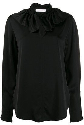 See by Chloe ruffle collar shirt