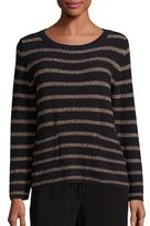 Max Mara Antiope Stripe Knit Sweater