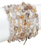 Chan Luu African Opal & Sterling Silver Beaded Bracelet
