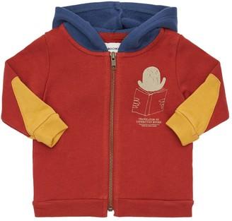 Bobo Choses Organic Cotton Zip-Up Sweatshirt Hoodie