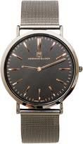 Slim Design Mesh Stainless Steel Watch Herman Glück Luxury Slim Design Mesh Stainless Steel Men's Watch (Black)
