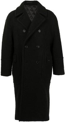 SONGZIO Signature Boucle Double-Breasted Coat