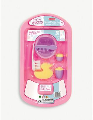 Selfridges Bath and Potty toy set