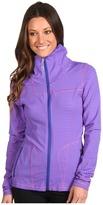 Lole Essential Cardigan (Violet Stripe) - Apparel