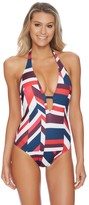 Nautica Royal Voyage Halter One Piece