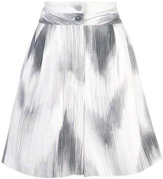 Josie Natori Textured Shorts