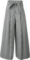 Each X Other Other - high waisted culottes - women - Cotton/Polyamide/Spandex/Elastane/Viscose - XS