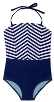 Gossip Girl Girl's Ships Ahoy One-Piece Swimsuit