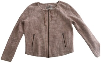 Humanoid Pink Cotton Jacket for Women