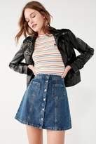 brand BDG BDG Denim Button-Front Skirt