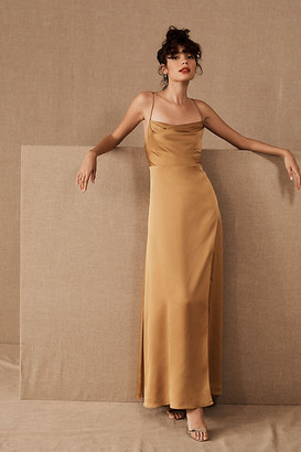 Fame & Partners Rosabel Dress By in Yellow Size 12