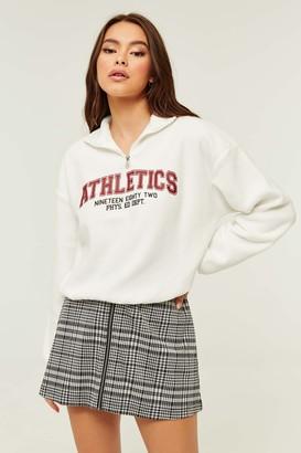 Ardene Fleece Mock Neck Sweatshirt