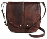 Bolo Solid Cross-body Bag - Chocolate