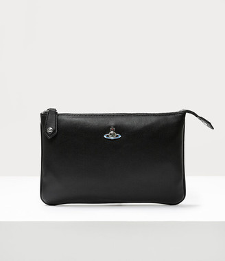 Vivienne Westwood Emma Top Zip Purse Black
