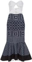 Johanna Ortiz M'O Exclusive Shining Sea Cut Out Dress