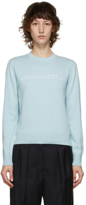 A.P.C. Blue Eponyme Sweater